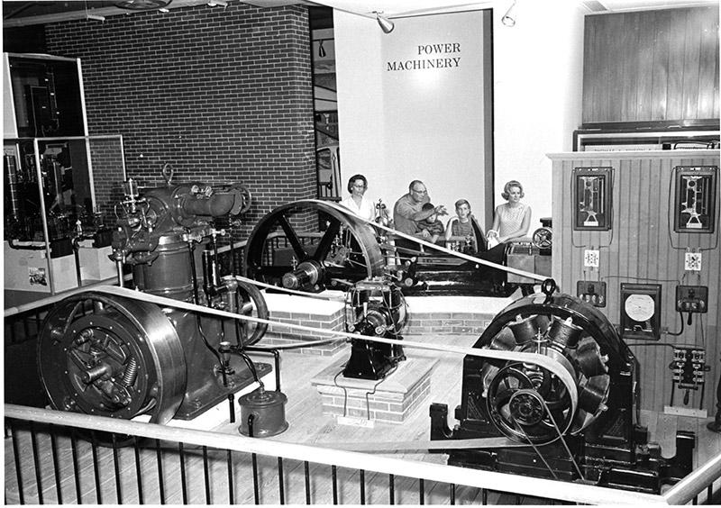 Power Machine Hall, 1957