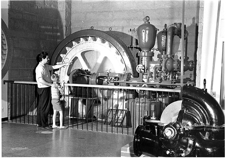 Power Machine Hall, 1957