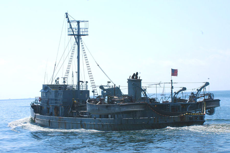 Menhaden Fishing Vessel